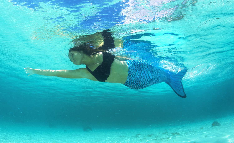 Pinne da sirena Fin Fun RTLX-TT-AM-MF taglia M//44-46 colore: Blu per adulti