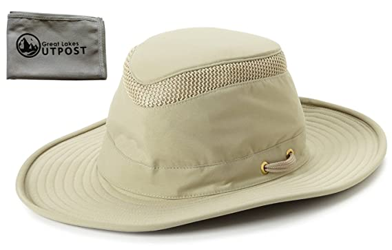 Tilley LTM6 Airflo Hat with Mesh Bundle with Cloth at Amazon Men s ... ecb3da92b06