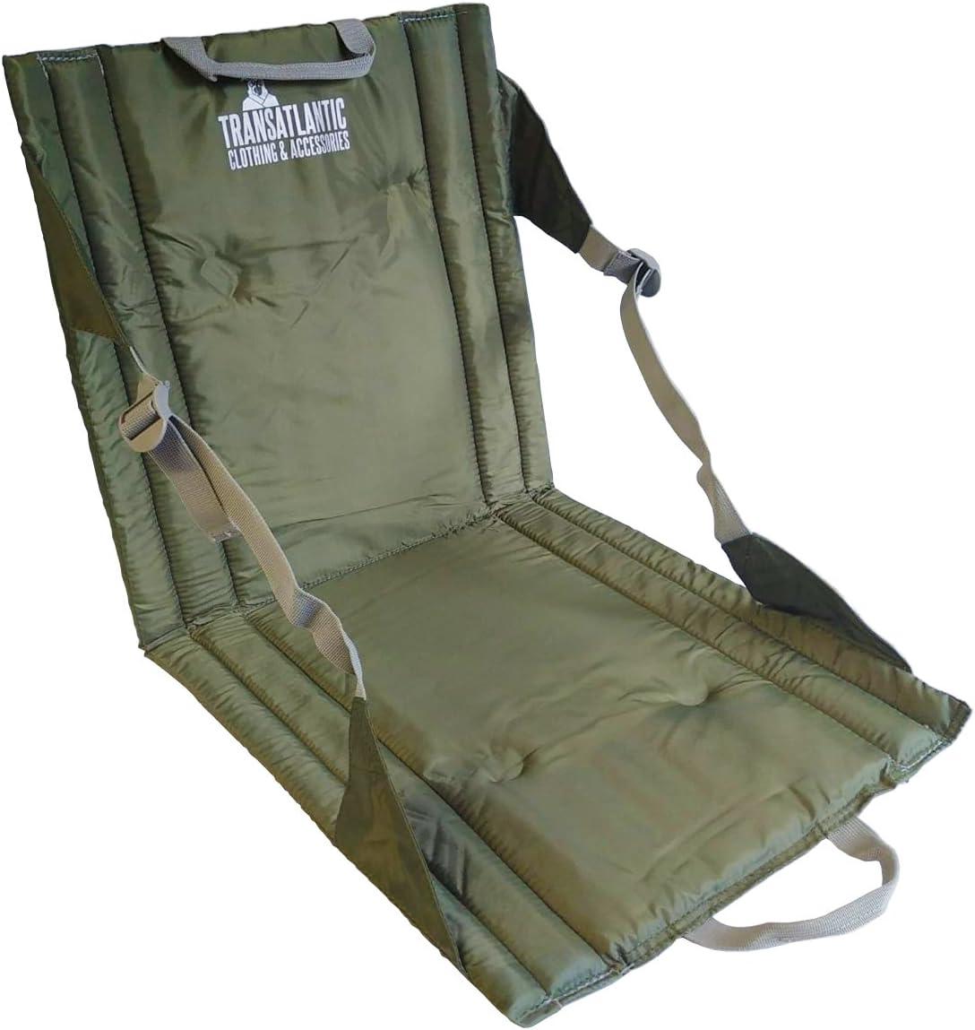 Highlander Green Folding Sit Mat Hiking Walking Camping Backpacking Fishing