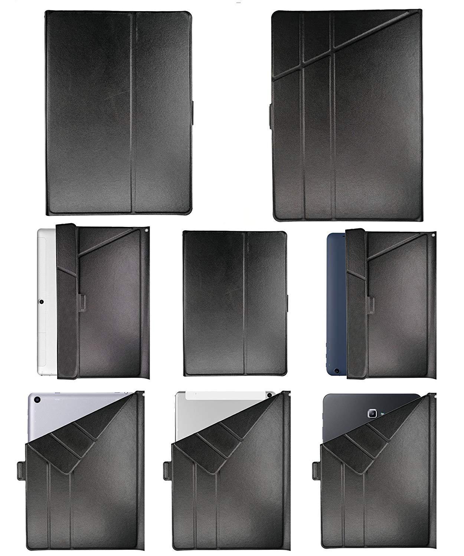 Lovewlb Tablet Funda para Denver Taq-10283 Funda Soporte Cuero Case Cover HS