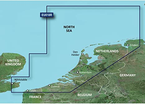Garmin VEU018R Países Bajos SD Card Cartas náuticas: Amazon ...