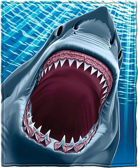 SHARK LOVER FLEECE BLANKET