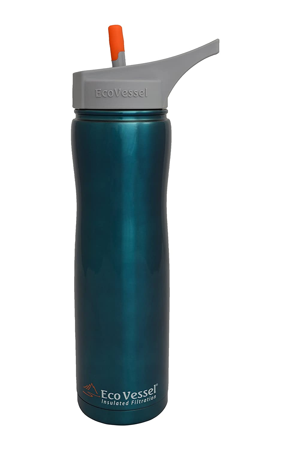 Eco Vessel Insulated Portable Water Filtration Bottle