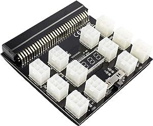 S-Union Ethereum ETH ZEC Mining GPU 1200w/750w PSU Breakout Board 12V for DPS-1200FB A/DPS-1200QB A/PS-2751-5Q/PS-2751-LF-1F/HSTSN-PL12/DPS-700LB D/PS-2112-5L/DPS-750RB A