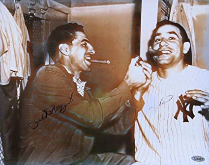 a087dbe642d Yogi Berra Phil Rizzuto Signed Autographed 11X14 Photo New York ...
