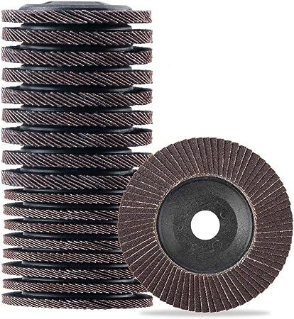"Unmounted 10 Abrasive Flap Wheels 4 IN x1/""x5//8/"" 120 Grit"