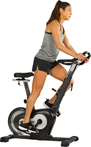 EFITMENT Rear Drive Magnetic Indoor Exercise Bike