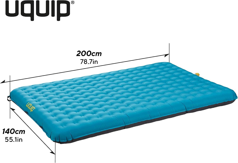 Human Comfort Luftbett Durtal Double Doppel Isomatte Luftmatratze Mit Pumpe 194 x 140 x 10 cm