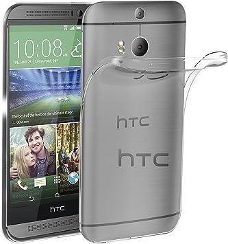 ivoler Funda Carcasa Gel Transparente para HTC One M8, Ultra Fina ...