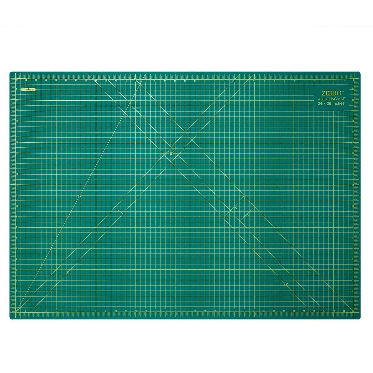 ZERRO Self Healing Cutting Mat 24 x 36Professional Double Sided Durable NonSlip Rotary Mat for