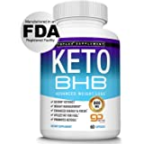 Keto Pills Ketosis Diet BHB Salt - Natural Ketosis Using Ketone & Ketogenic Diet, Support Energy & Focus with Exogenous…