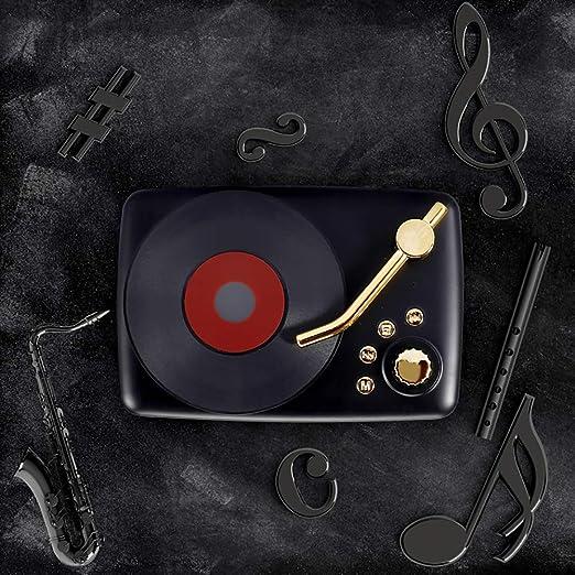 CNRGHS Mini Altavoz Bluetooth, Tocadiscos Retro, Sonido De Pistola ...