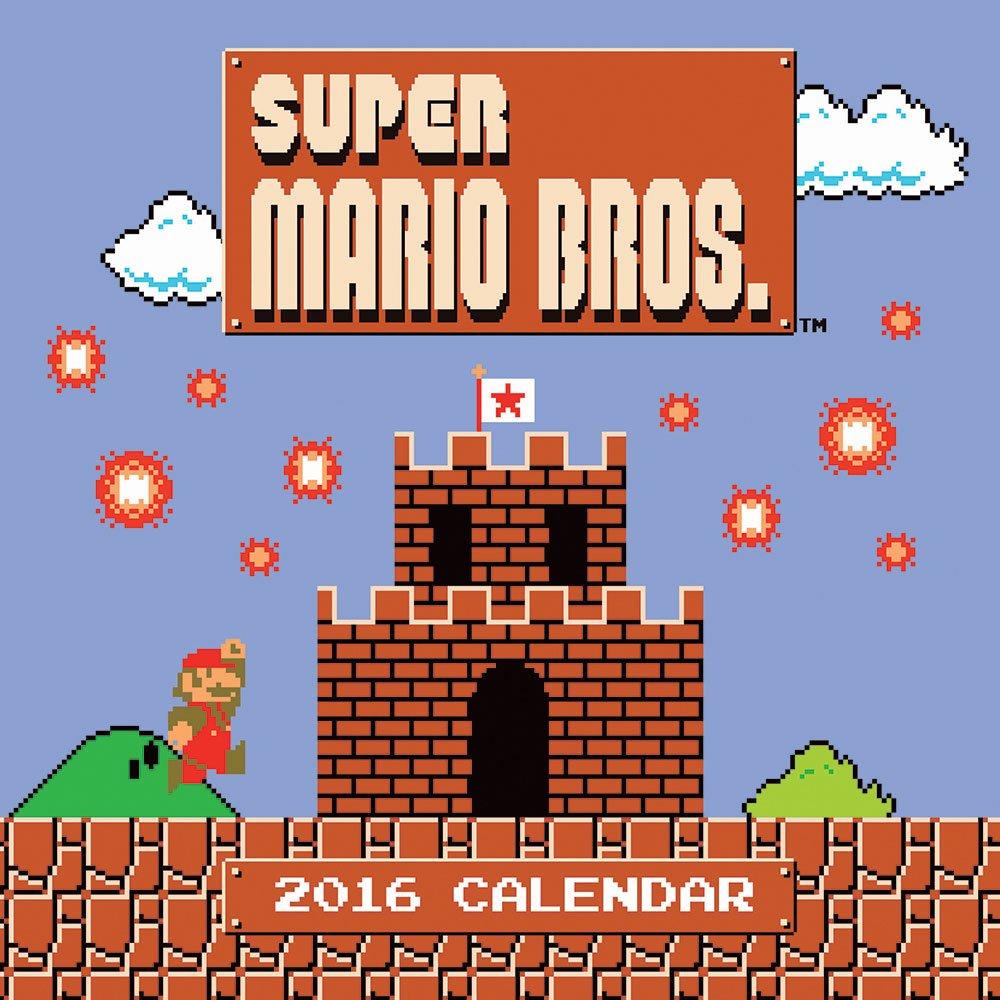 Super Mario Brothers 2016 Calendar