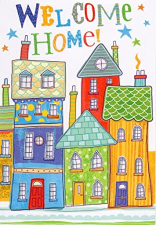 Welcome home greeting card great value greetings cards amazon welcome home greeting card great value greetings cards m4hsunfo
