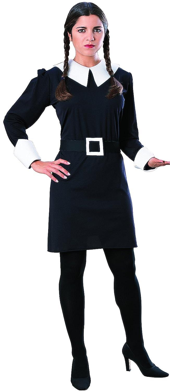Disfraz oficial de Miércoles de la Familia Addams: Amazon.es: Juguetes y juegos
