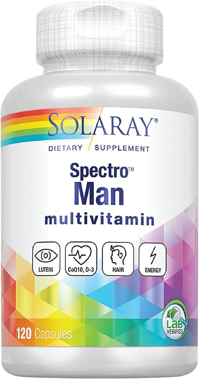 Solaray Spectro Man Capsules, 120 Count