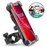Bovon Anti-Shake Bike Phone Mount, 360° Rotation Universal Bicycle Motorcycle Phone Mount Holder Stand Cradle Clamp…