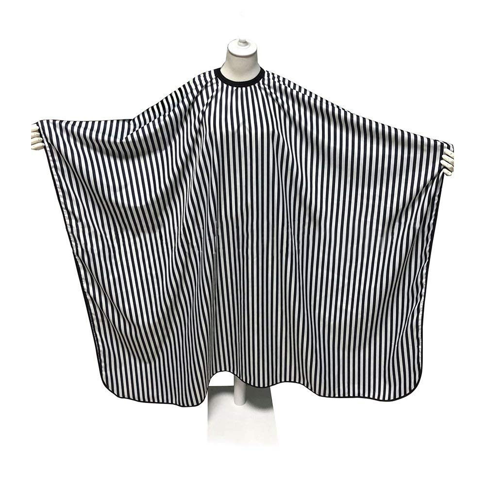 SUNTA Professional Salon Hair Cutting Cape Hairdresser Barber Cape Black and white Color for salon or DIY use by SUNTA