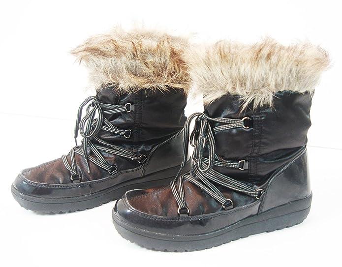 c29c21a5c9a7 Crane 2016-2017 Winterstiefel WARM DICK GEFÜTTERT Damen Schnee Stiefel Boots   Amazon.de  Schuhe   Handtaschen