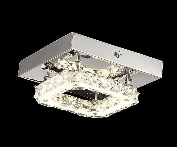 Plafoniere Di Cristallo : Glighone plafoniere da soffitto w mini lampadario di cristallo a