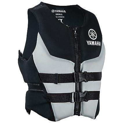 Yamaha Waverunner Life Jacket Neoprene Adult Premium Black Vest PFD