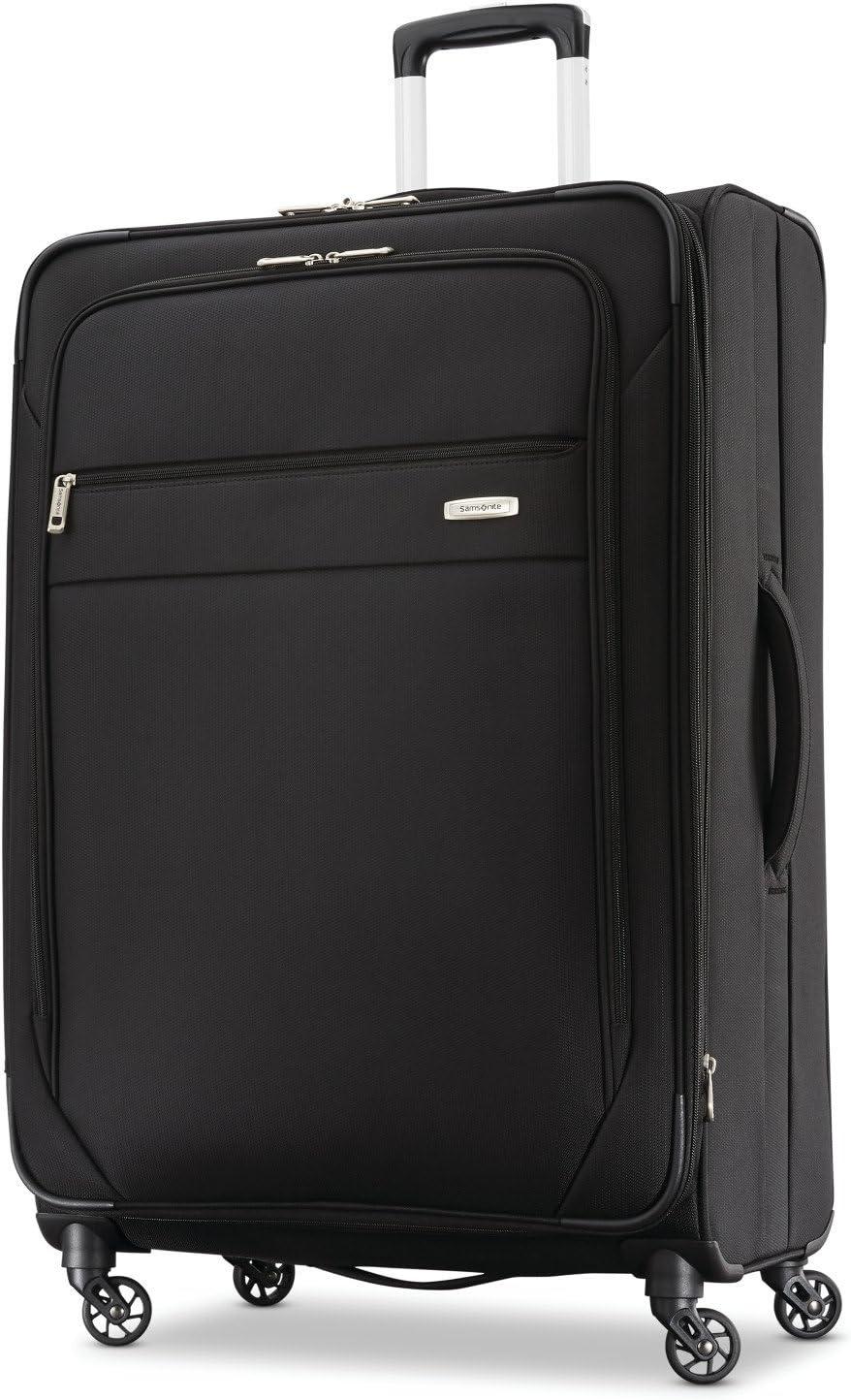 Samsonite Advena Softside Expandable Luggage with Spinner Wheels Black