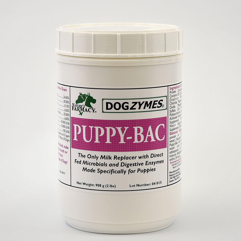 Dogzymes Puppy Bac Milk Replacer, 2-Pound by Dogzymes