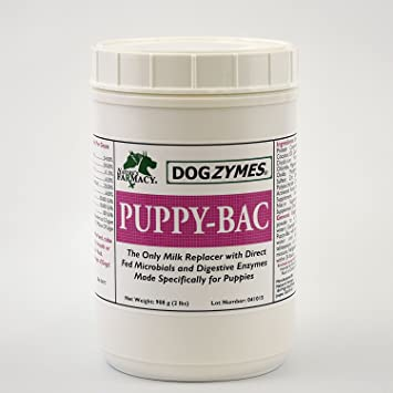Amazon.com: dogzymes cachorro Bac Leche replacer, 2-Pound ...