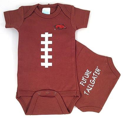 74f96a11e Future Tailgater Arkansas Razorbacks Baby Football Onesie (6 months)