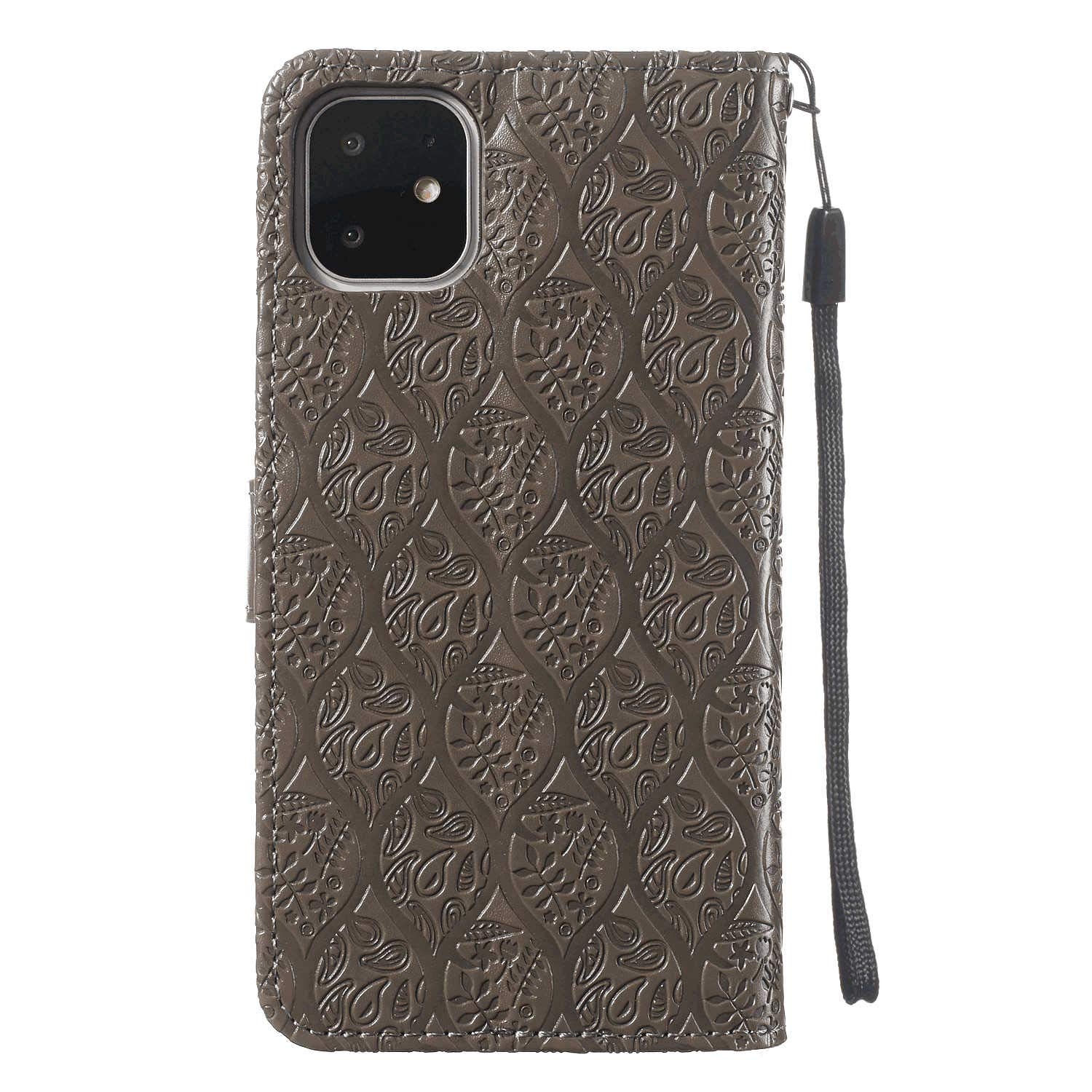 Leather Flip Case Fit for iPhone 11 Pro Max Blue Wallet Cover for iPhone 11 Pro Max