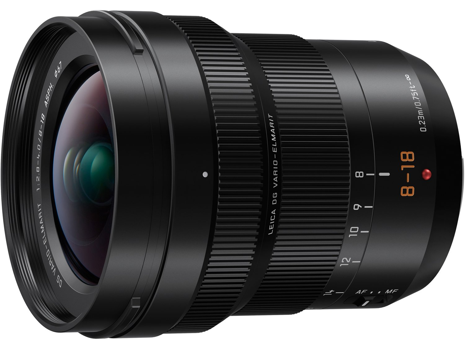 PANASONIC LUMIX Professional 8-18mm Camera Lens, G LEICA DG VARIO-ELMARIT, F2.8-4.0 ASPH, Mirrorless Micro Four Thirds, H-E08018 (Black) by Panasonic