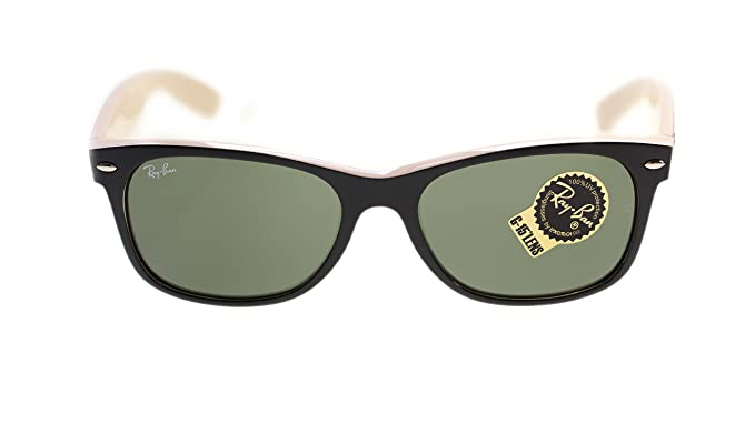 4c317fe1480 Image Unavailable. Image not available for. Color  Ray Ban Wayfarer Sunglasses  RB2132 875 ...
