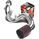 """Toyota Celica GTS ZZT230 2.75"""" Cold Air Intake System (Silver Piping)+K&N RU-1460 Filter"""