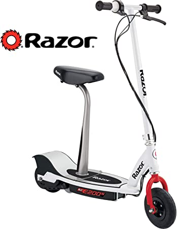 Amazon.com: Razor E200S - Patinete eléctrico sentado, color ...