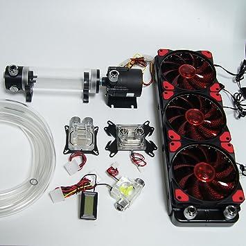 amazon h nicholas diy liquid cooling 360 radiator water cooling