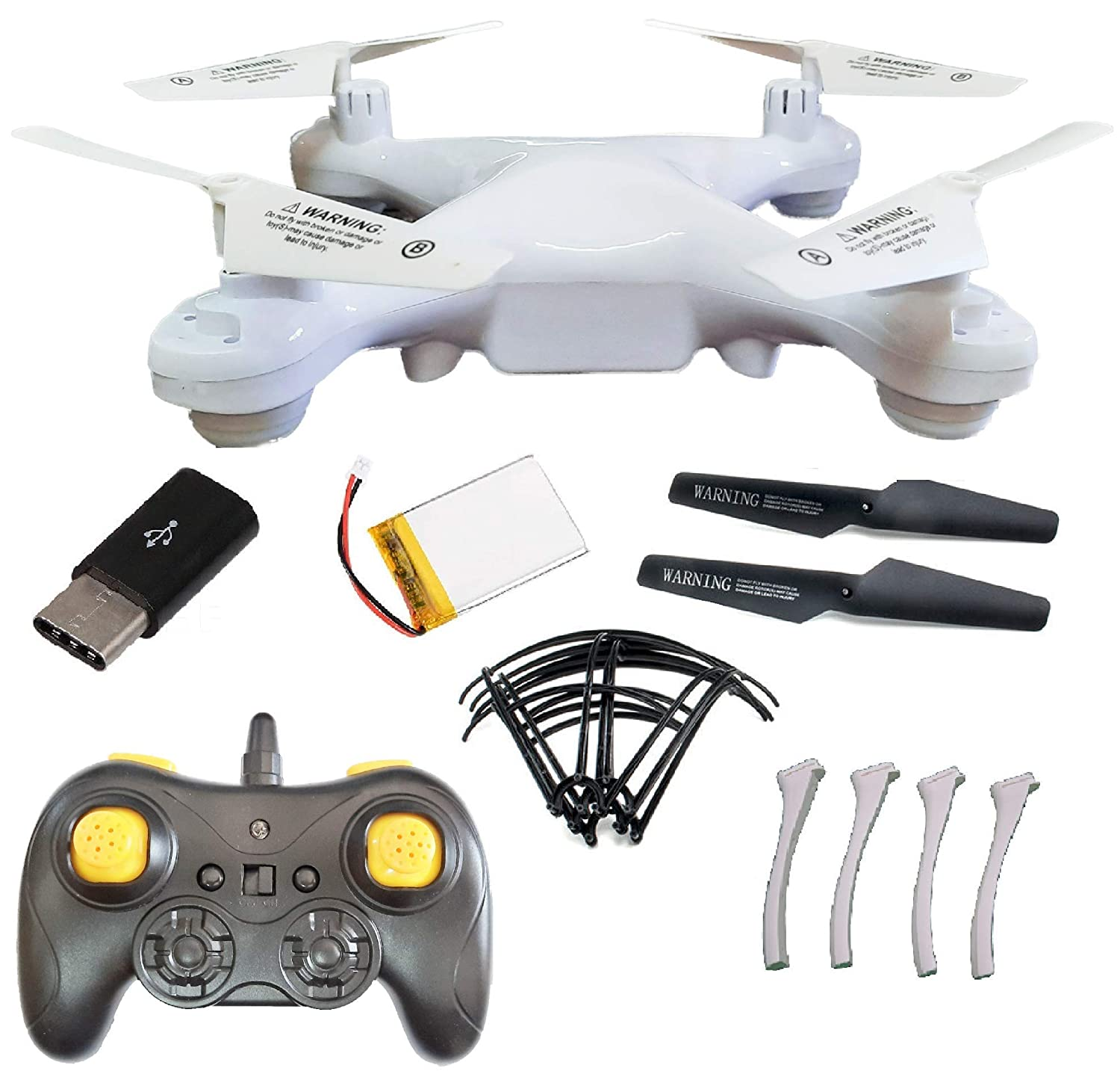 Amitasha 2.4GHz Altitude Hold RC Drone with 360° Flip Action and Headless Mode