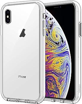 JETech Coque iPhone XS Max 6,5 Pouces, Shock-Absorption, Housse Case Cover Transparente Antichoc, HD Clair
