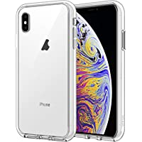 """JETech Funda Compatible iPhone XS MAX 6,5"""", Carcasa Absorción de Impacto (Transparente)"""