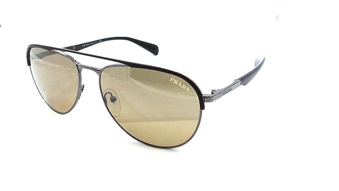 Amazon.com: Prada anteojos de sol SPR 51Q lah-2 C2 59 x 16 ...