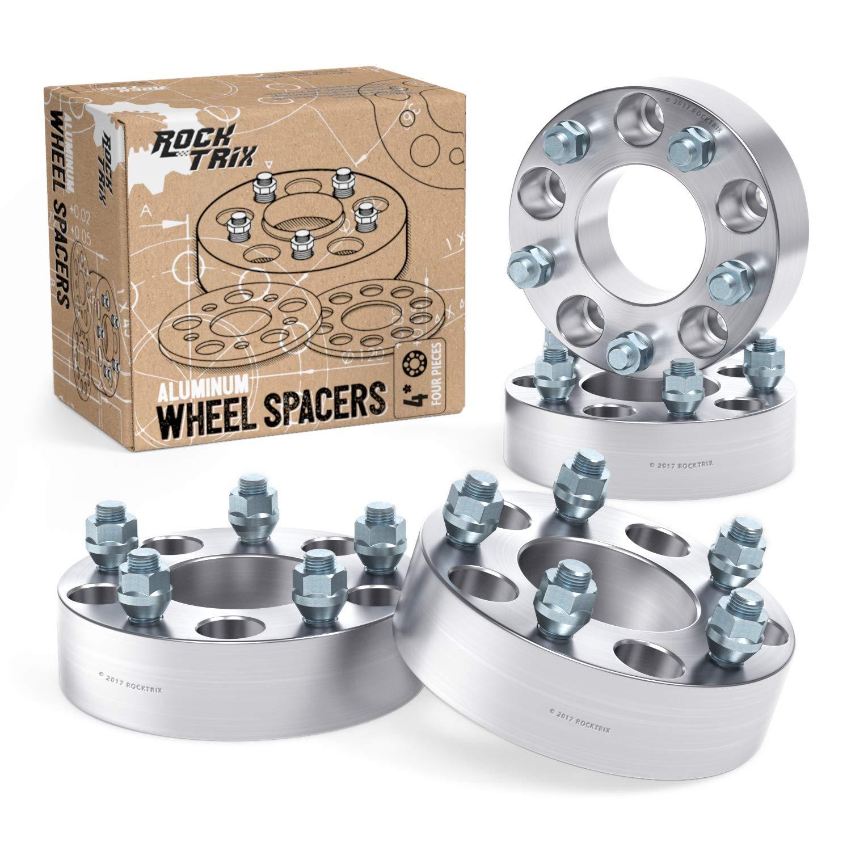 F150 Bolt Pattern >> 4pc Wheel Spacers 2 Thick 5x5 5 To 5x5 5 Bolt Pattern With 1 2 Studs For Dodge Ram 1500 Ford F100 F150 E100 E150 Bronco Jeep Cj3 Cj5 Cj6 Cj7