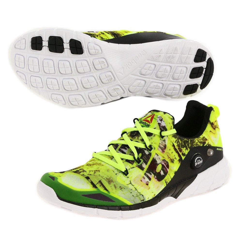 Reebok Zpump Fusion 2.0 Dunes, Zapatillas de Running para Hombre, Amarillo/Gris/Blanco/Negro (Solar Yellow/Steel/RNG Wht/Black/Coal), 44 1/2 EU: Amazon.es: Zapatos y complementos