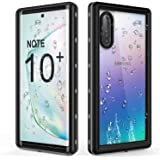 PLESON Samsung Galaxy Note 10 Plus Waterproof Case [Built-in Screen Protector] [IP68] [360° Full Body Protection…