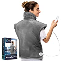 Cure Choice XL Electric Heating Pad for Back Pain Relief, Ultra Soft 24