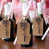 AerWo 10pcs abrelatas de botella de esqueleto escort Tag de la boda de tarjeta de favores para los huéspedes Suministros de fiesta(Estilo 4)