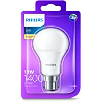 Philips LED Light Bulb (B22 Bayonet Cap 13.0W A60) - Warm White