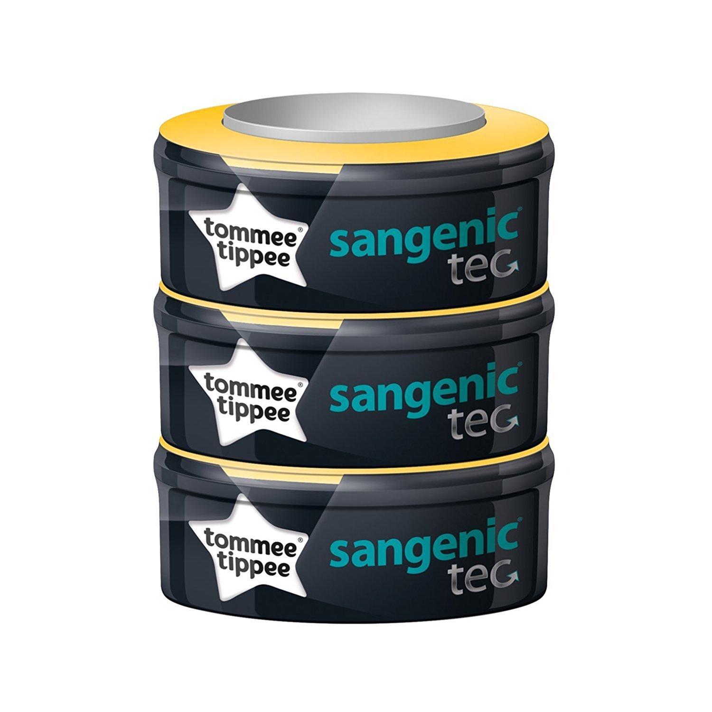 Tommee Tippee Sangenic Tec - Recambios para el contenedor (pack de 3) + REGALO de un babero product image