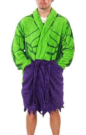 Amazon.com: Mens Marvel Comics Incredible Hulk Dressing Gown: Clothing