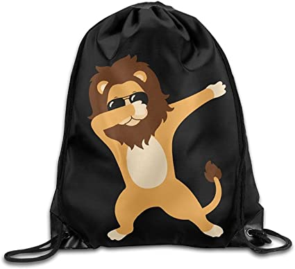 Elephant Men And Women Drawstring Backpack Bag Beam Mouth School Travel Backpack Shoulder Bags