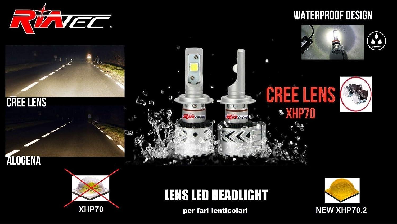Kit original LED CREE para faros delanteros de coche, casquillos únicos, productos de H7: Amazon.es: Coche y moto