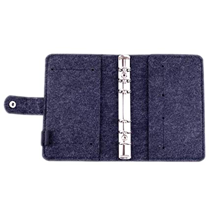 Amazon.com : A6 A7 Loose Leaf Notebook Diary Plan Ring ...